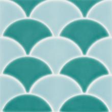 Revestimento para Piscina Cerâmica Geomarine Shell Agua 19x19cm Eliane