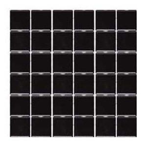 Revestimento para Piscina Preto 30,3x30,3cm Jatobá