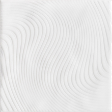 Revestimento para Piscina Cerâmica Wave Branco 20x20cm Eliane