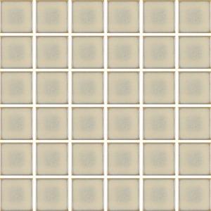 Revestimento Externo Plural 4,5x4,5cm Glam Marfim Natural Bold PEI 0 Caixa 2,11m² Portobello