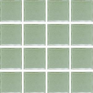Revestimento Externo Prisma 7,5x7,5cm Verde Brilhante Bold PEI 1 Caixa 2m² Portobello