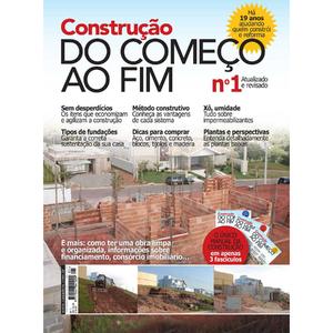 Revista Construção do Começo ao Fim Fascículo 01
