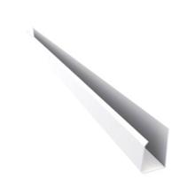 Rodaforro U Rígido de PVC Branco 4m Real PVC
