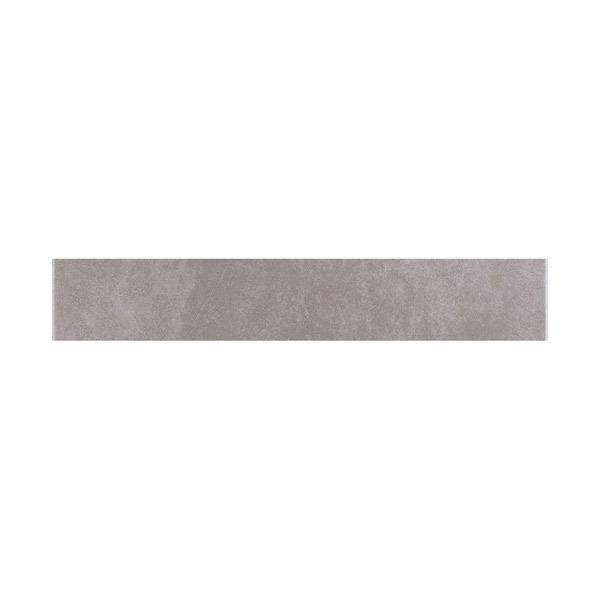 Rodap coordenado cer mica cimento cinza 10x60cm - Ceramica leroy merlin ...