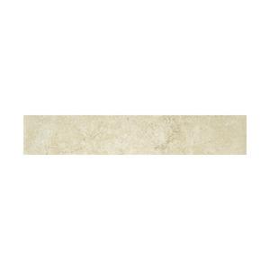 Rodapé 8 x 45 cm Porcelanatoa Acetinado Jerusalém Stone White Portobello