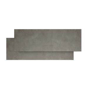 Rodap coordenado porcelanato cemento concreto 10x84cm for Balaustre in cemento leroy merlin