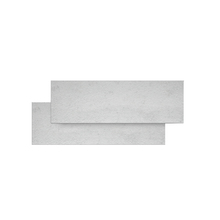 Rodapé Coordenado Porcelanato Megaro Bianco 10x62,5cm Elizabeth