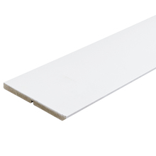 Rodapé de MDF Ultra Branco RP20A Clean Premium 19x240cm Artens