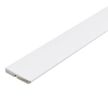 Rodapé de MDF Ultra Branco RP10A Clean Premium 9,5x240cm Artens