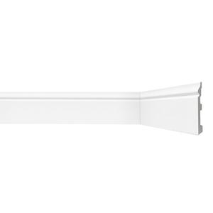 Rodapé HDPS Branco 15x120x2440cm Gart