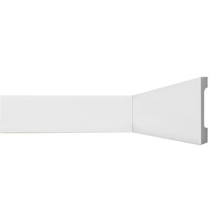 Rodapé HDPS Branco 18x110x2440cm Gart