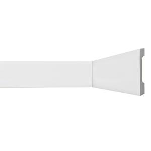 Rodapé HDPS Branco 18x150x2440cm Gart