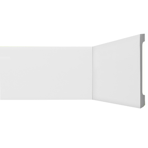 Rodapé HDPS Branco 18x200x2440cm Gart