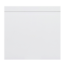 Rodapé Madefibra Ultra Laca Branco Premium 19x240cm Artens