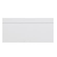 Rodapé Madefibra Ultra Laca Branco Premium 9,5x240cm Artens