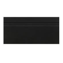 Rodapé Madefibra Ultra Laca Preta Premium 9,5x240cm Artens