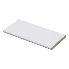 Rodapé Madefibra Ultra Laqueado Branco 14x240cm Artens