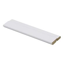 Rodapé Madefibra Ultra Laqueado Branco 7x240cm Artens