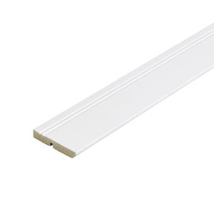 Rodapé Madefibra Ultra Laqueado Branco 9,5x240cm Artens