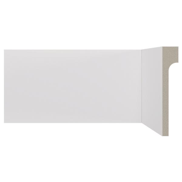 Rodap poliestireno branco 11x2 0x240cm santa luzia - Molduras de poliestireno leroy merlin ...