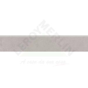 Rodapé Retificado Retificado Portland HD GDR Cinza 15x87,7 Cecrisa