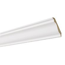 Rodateto Universal  Madeira laqueada 9,5x1,5x2,40cm Moldurama