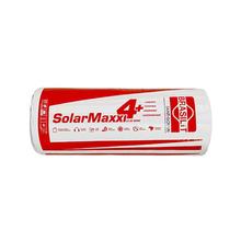 Rolo Lã de Vidro Solarmaxxi Revestido com Alumínio 30m² 1,20x25mx20mm Isover