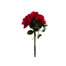 Rosa Toque Real Vermelho Haste 25cm