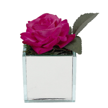 Rosa Vaso Espelhado 8cm