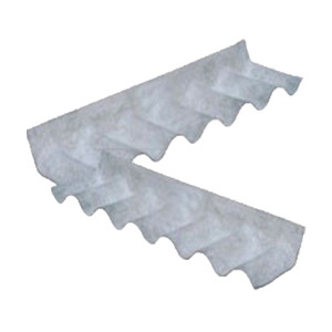 Rufo Direito Econoflex de Fibrocimento Cinza 110x30x0,6cm Infibra
