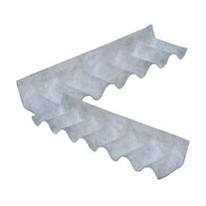 Rufo Esquerdo Econoflex de Fibrocimento Cinza 110x30x0,6cm Infibra