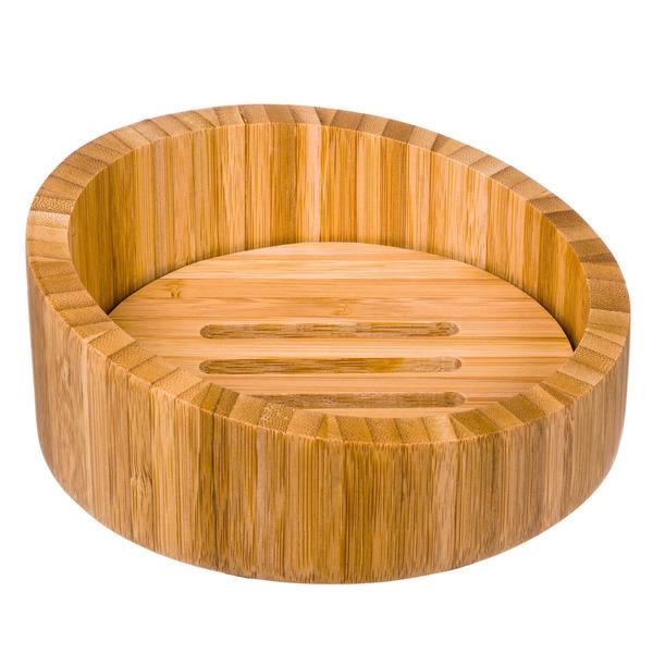 Saboneteira marrom em madeira bambu importado leroy merlin - Leroy merlin estores bambu ...