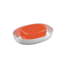 Saboneteira Bancada Oval Aluminia Interdesign