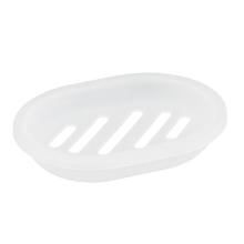 Saboneteira de Bancada em Plástico Oval Incolor Bimbo Importado