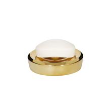 Saboneteira Dourada em Plástico Belly Sensea