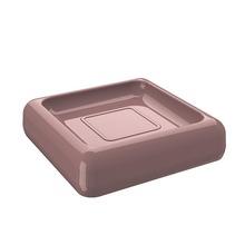 Saboneteira em Plático Rosa Cube Coza