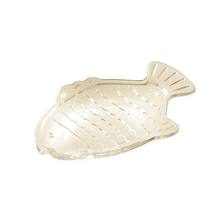 Saboneteira Mesa   Plástico Oval Transparente Interdesign Inc.