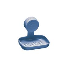 Saboneteira Parede Plástico Retangular Azul