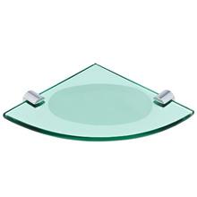 Saboneteira Parede Vidro Oval Verde