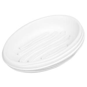 Saboneteira Pia Louça Oval Stone Branco
