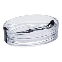 Saboneteira Pia Plástico Oval Spoom Cristal