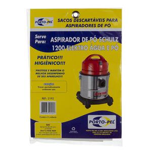 Saco para aspirador serve  para  Elektro 1200W água e pó
