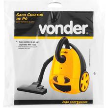 Saco para Aspirador Serve para APV1203 3 peças Vonder