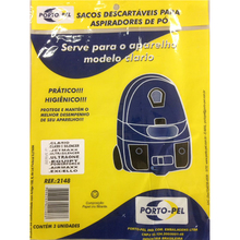 Saco para Aspirador Serve para Electrolux Clario/Silencer Porto-Pel