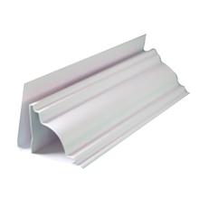 Sanca Colonial Rígido de PVC Branco 4m Real PVC