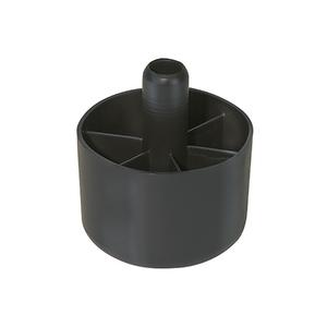 Sapata para Móveis até 40kg 50mm Preto Hettich