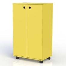 Sapateira 10 Pares Amarela 87x54x35cm Stalo