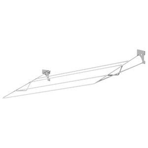 Sapateira Arame Closet Branco 80x45x2cm