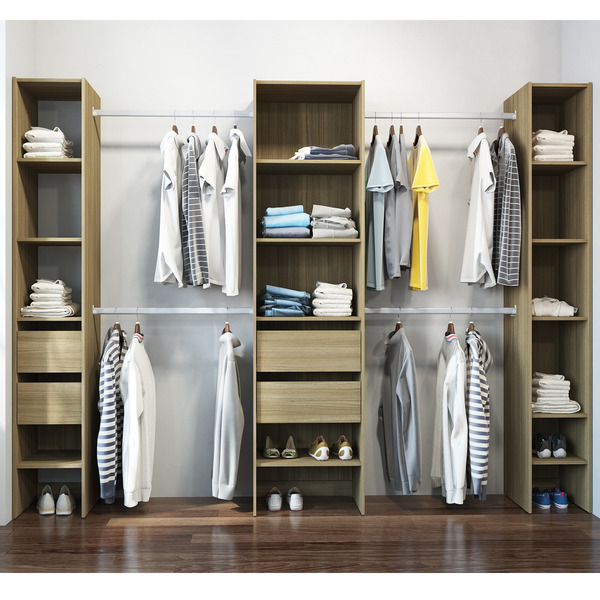 sapateira castanho 190x57x45cm prime politorno leroy merlin. Black Bedroom Furniture Sets. Home Design Ideas