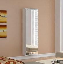 Sapateira Itajaí 10 Pares Branca c/Espelho 138x47x17 cm